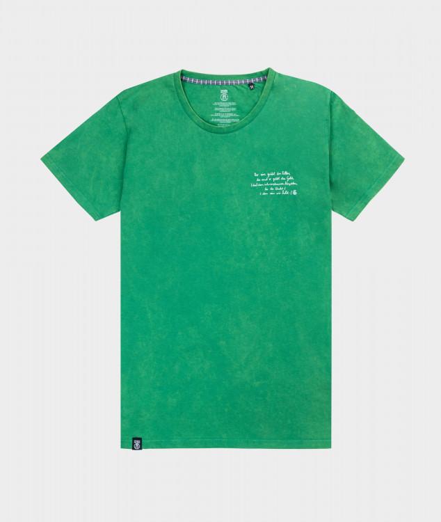 T-Shirt Männer Steigerlied 4. Strophe