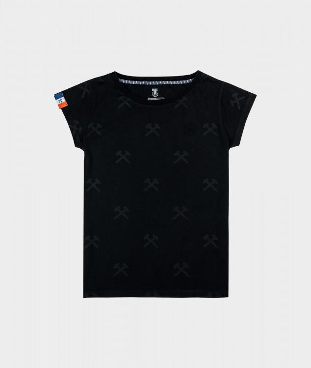 """T-Shirt """"Schlägel & Eisen"""" - Black/Black"""