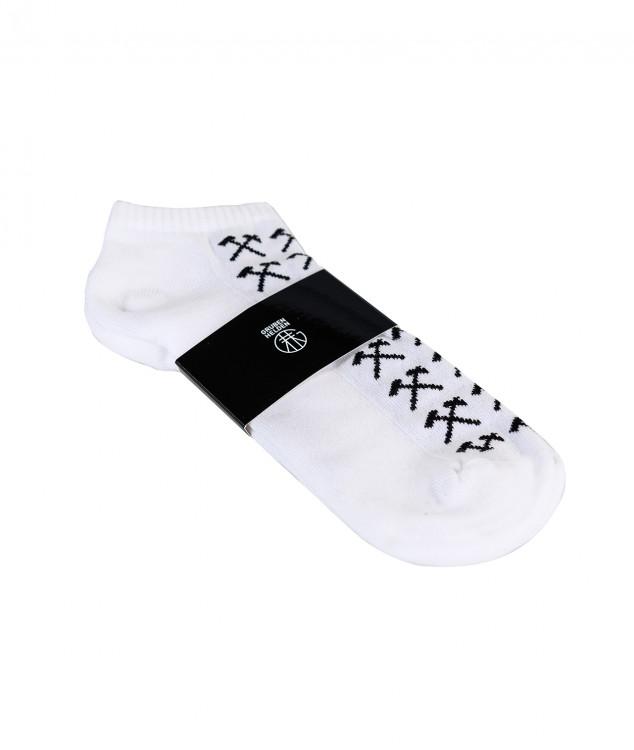 Sneaker Socken Schlaegel & Eisen Weiß