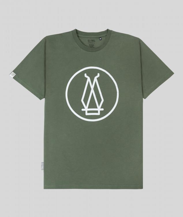 """T-Shirt """"Hochofen 2"""" - grün"""