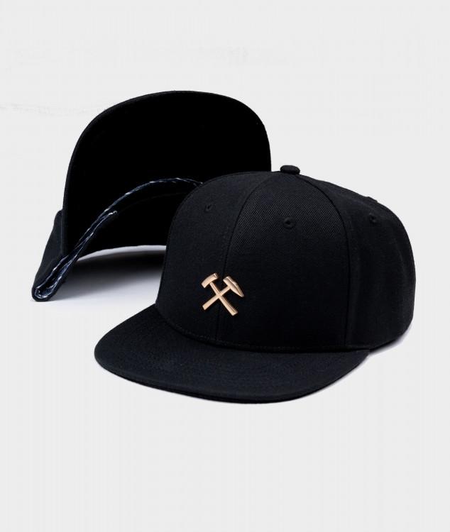 Snapback Cap Schlägel & Eisen Gold
