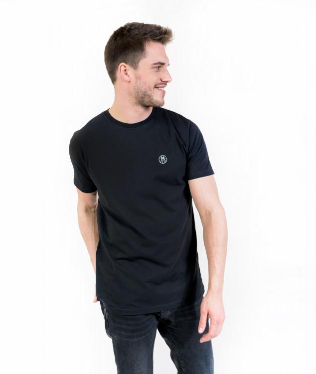 """T-Shirt """"Basic"""" Black"""