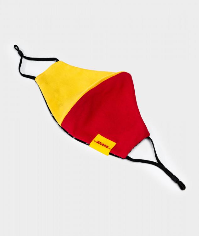 Nase-Mund-Bedeckung/Behelfsmaske - DHL x Grubenhelden - Jersey