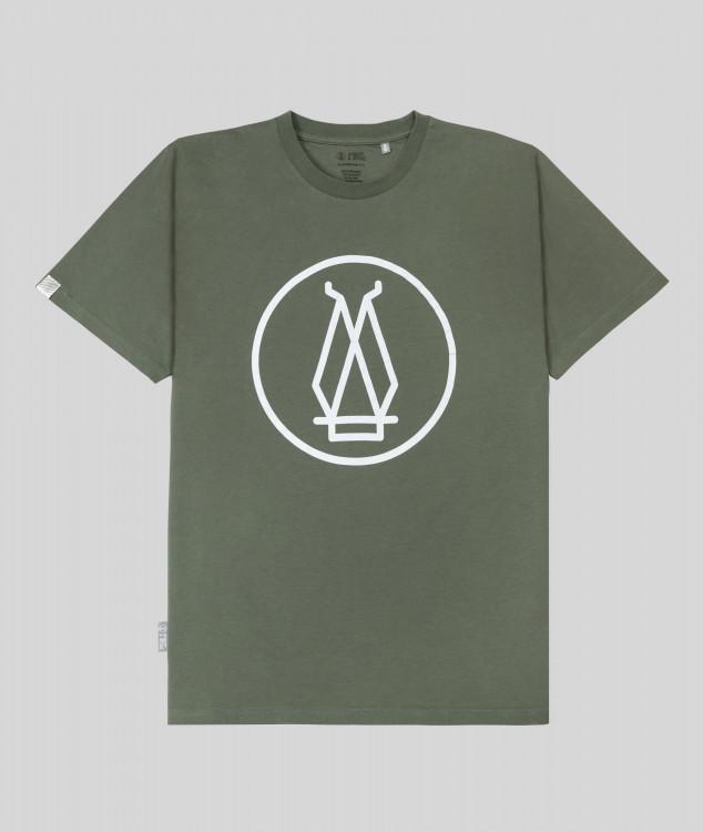 Herren T-Shirt Hochofen 2 - Grün