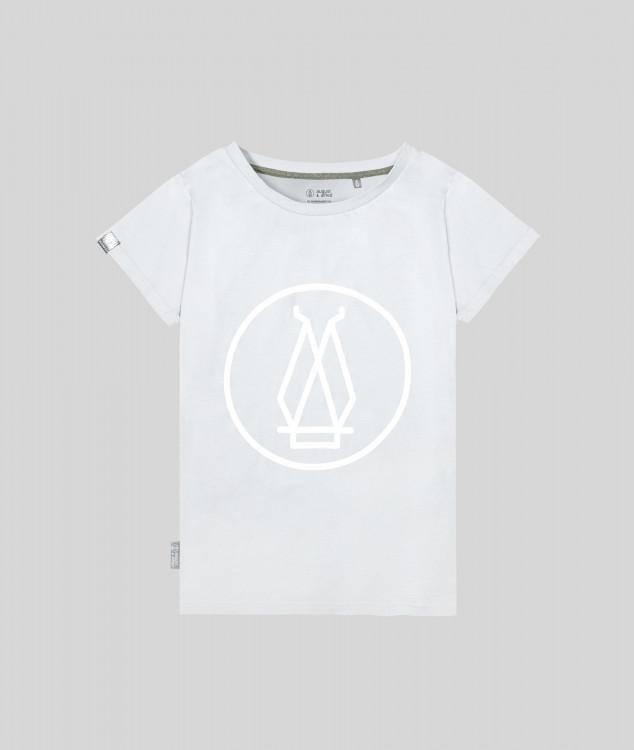 Damen T-Shirt Hochofen 1 - Hellgrau