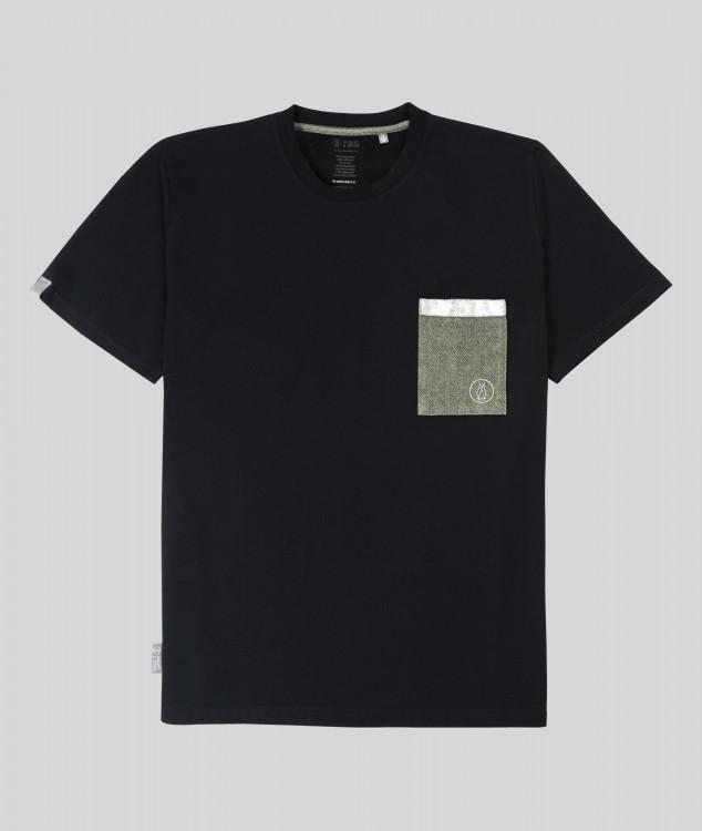 Herren T-Shirt Brammenlager 2 - schwarz