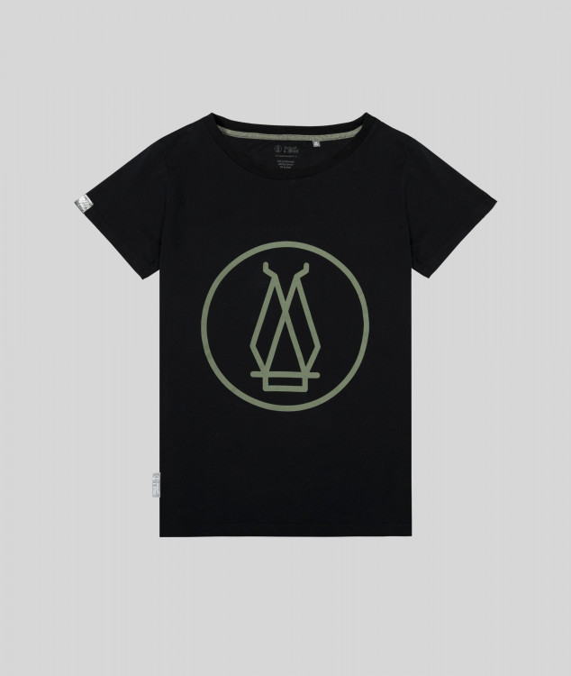 Damen T-Shirt Hochofen 1 - Schwarz