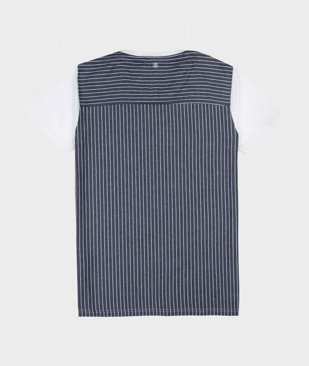 T-Shirt Nordstern - Weiß