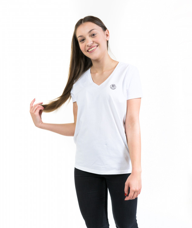 "T-Shirt ""Basic"" Weiß"