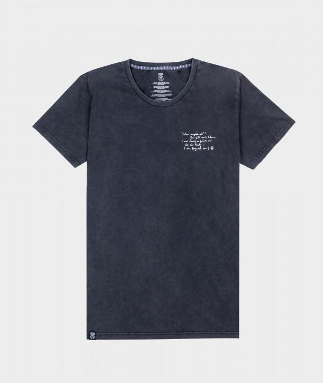 T-Shirt Männer Steigerlied 2. Strophe