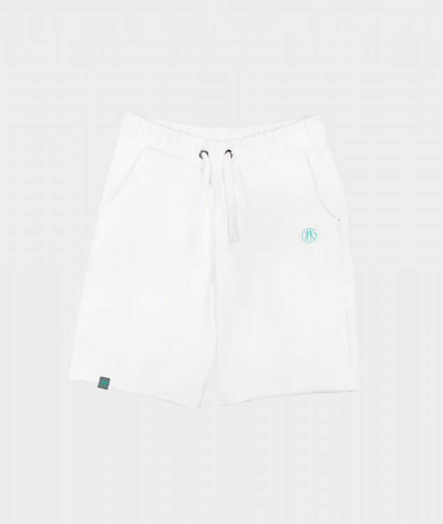 "Jogging Shorts ""Pawer"" Ecru"