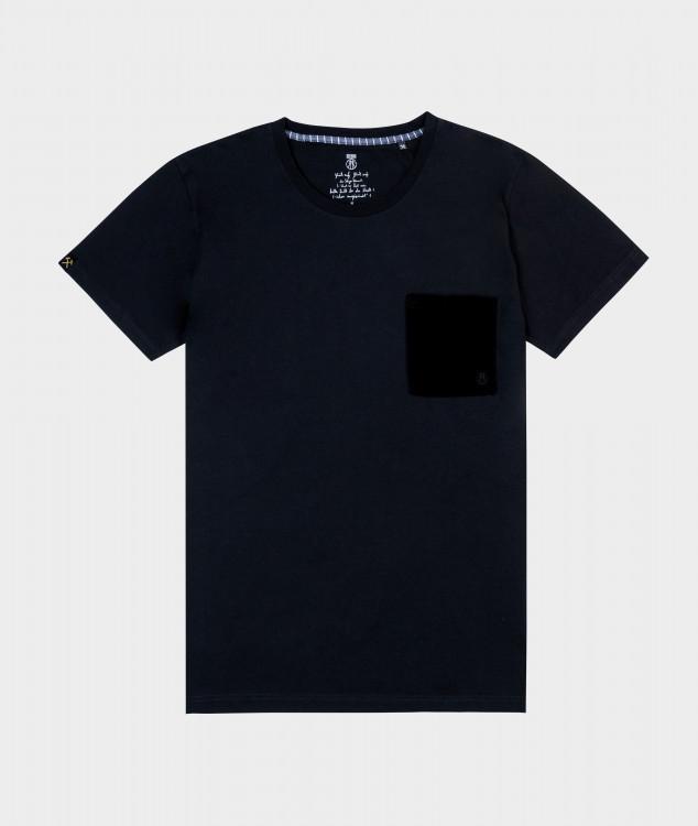 T-Shirt Männer Gruß bei der Nacht