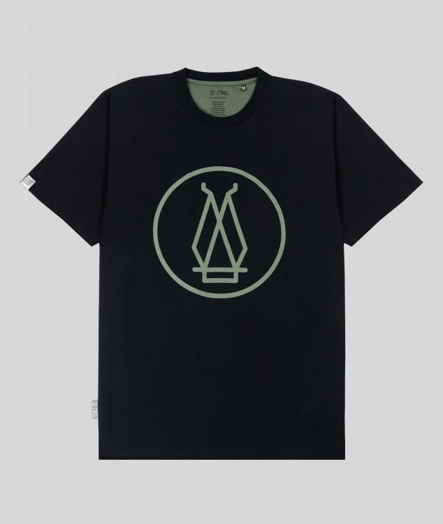 """T-Shirt """"Hochofen 2"""" - schwarz"""