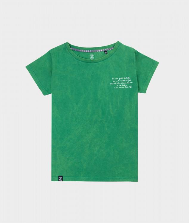 T-Shirt Frauen Steigerlied 4. Strophe