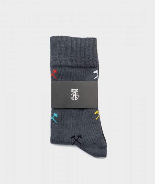 """Socken """"For all Colors"""" anthrazit"""