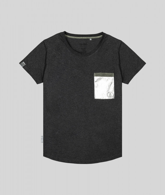 Damen T-Shirt Brammenlager 1 - Dunkelgrau
