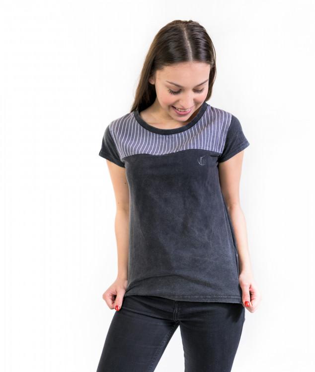 Tシャツ「コンソール」チャコール