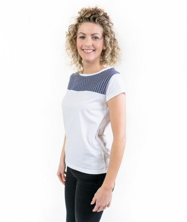 Tシャツ「コンソール」ホワイト