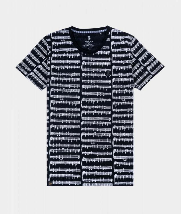 T-Shirt Männer Steigerlied Allover
