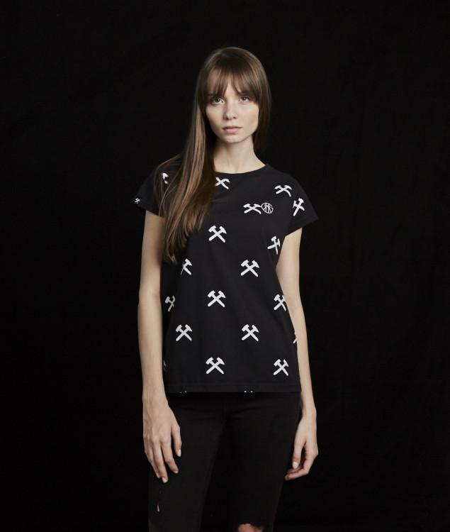 """T-Shirt """"Schlägel & Eisen"""" Black - limited"""