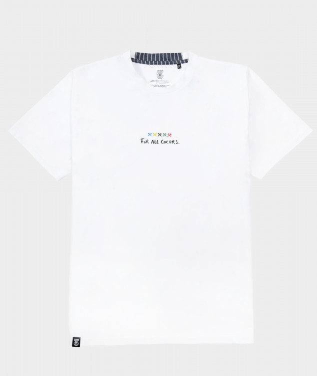 "T-Shirt ""For all Colors"" - Weiss"