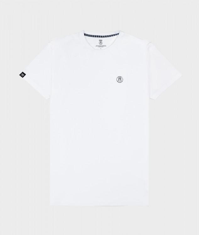 "T-Shirt ""Basic"" - Weiß"