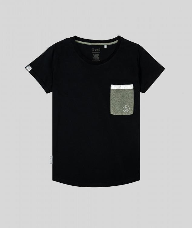 """T-Shirt """"Brammenlager 1"""" - schwarz"""