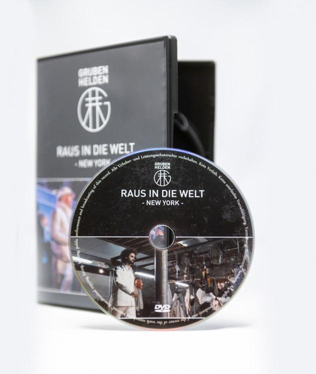 "DVD ""RAUS IN DIE WELT"" - NEW YORK"