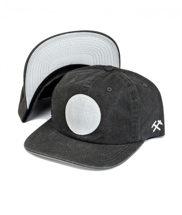 Snapback Cap GH-Logo Arschleder