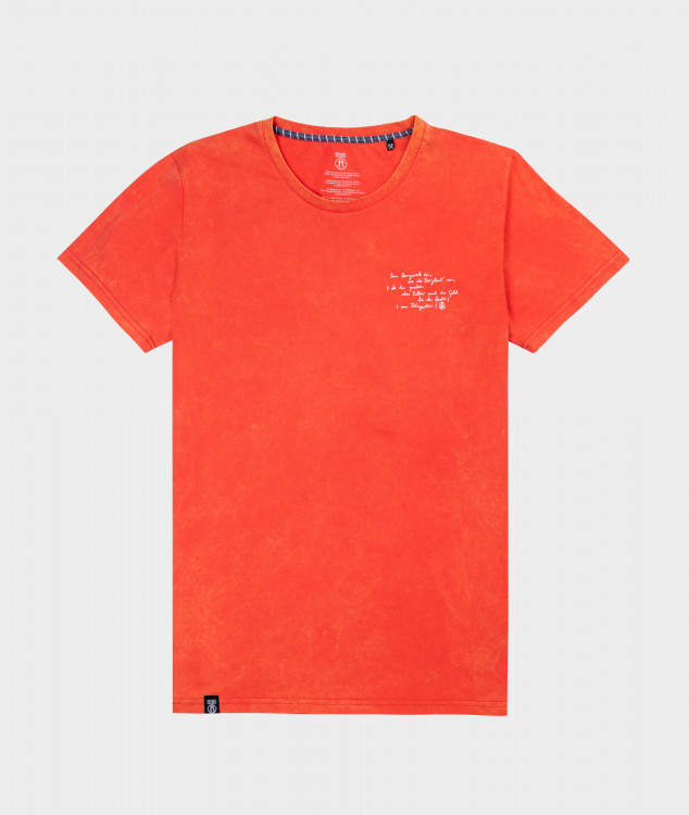 T-Shirt Männer Steigerlied 3. Strophe