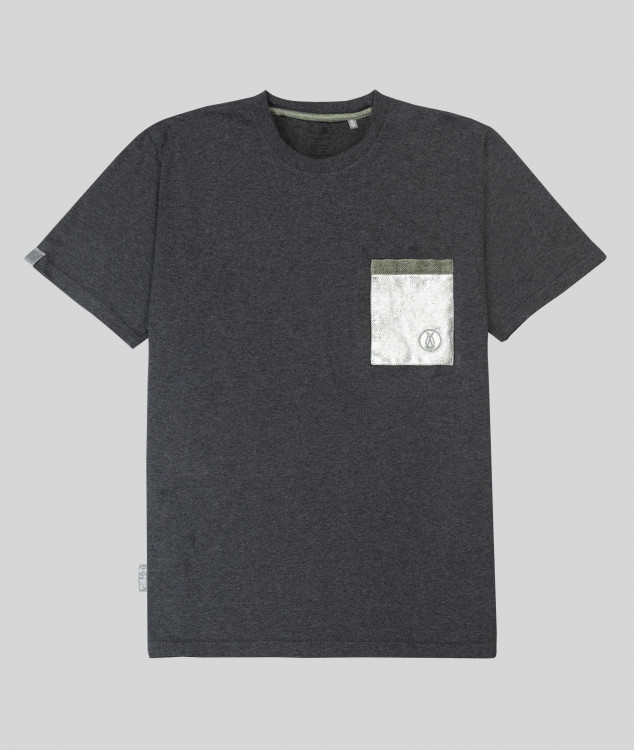 Herren T-Shirt Brammenlager 2 - Dunkelgrau