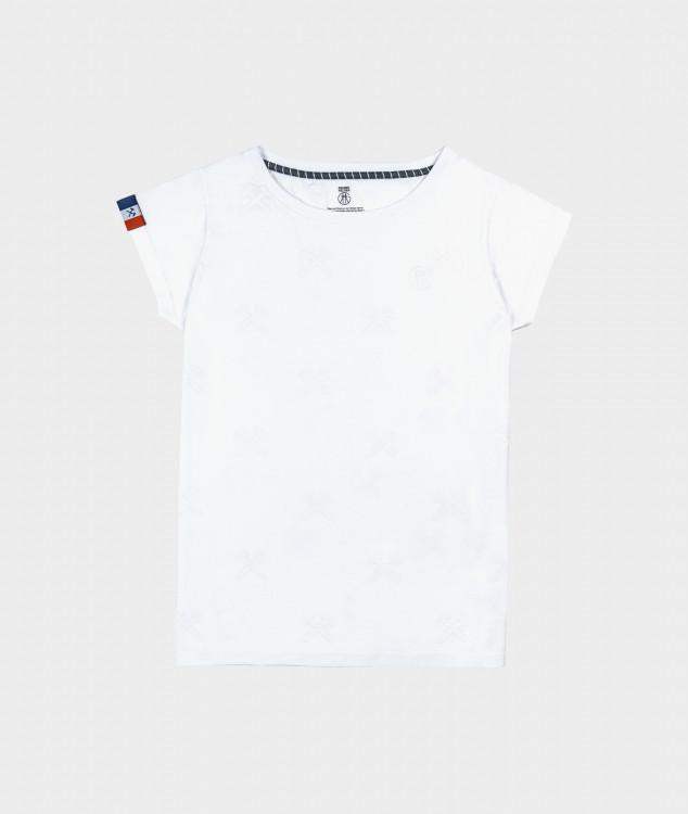 T-Shirt Schlägel & Eisen Weiss/Weiss