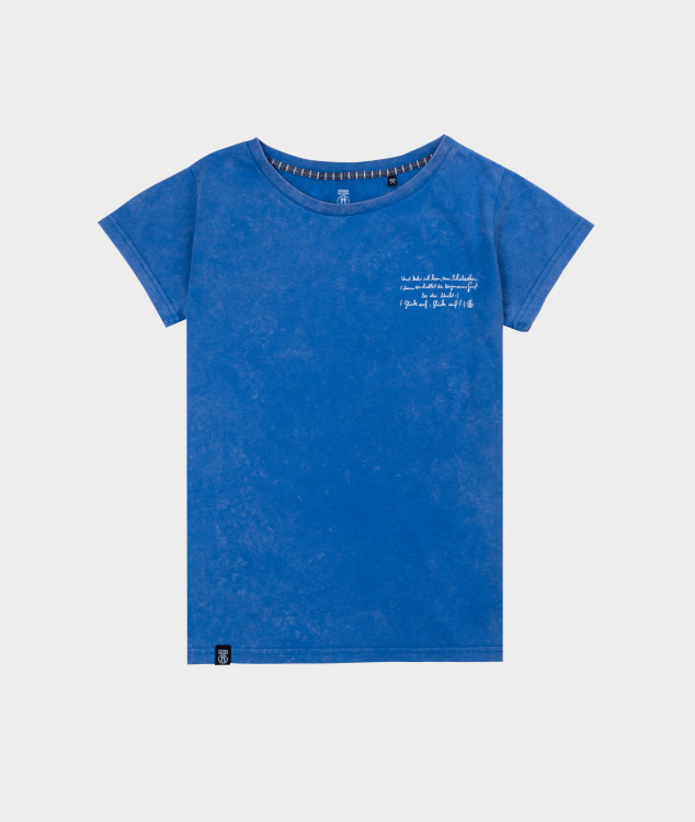T-Shirt Frauen Steigerlied 6. Strophe