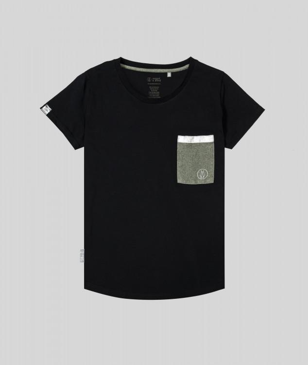 Damen T-Shirt Brammenlager 1 - Schwarz