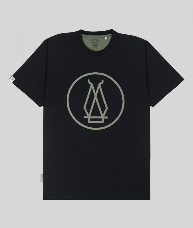 Herren T-Shirt Hochofen 2 - Schwarz